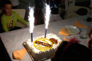 Cumpleaños infantiles en La Finca de Las Cuevas del Príncipe de Navalcarnero