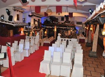 Celebración de tu boda en Las Cuevas del Principe, Navalcarnero Madrid