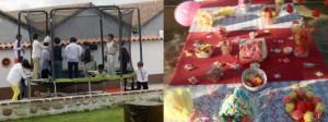 Cumpleaños y fiestas infantiles en La Finca de Las Cuevas del Príncipe de Navalcarnero
