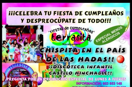 Cumpleaños infantiles en Las Cuevas del Princpe
