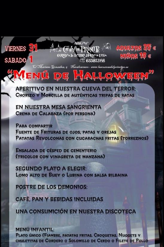 Halloween 2014 en Las Cuevas del Principe