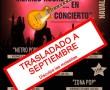 Pasamos los conciertos de Abril a Septiembre
