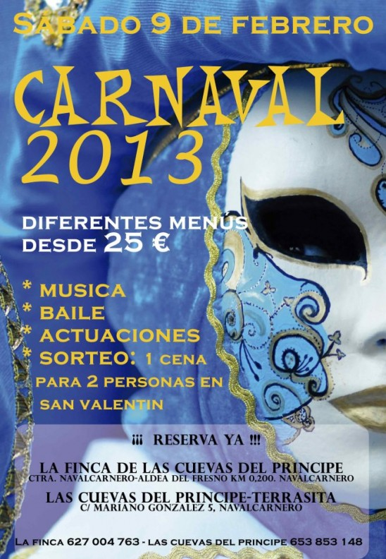 Fiesta Carnaval 2013