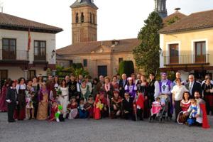 Invitados Boda medieval Plaza de Segovia Las Cuevas del Príncipe de Navalcarnero